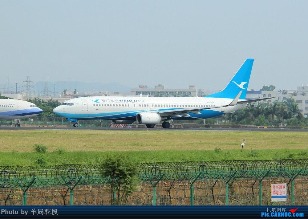 Re:[原创][南宁飞友]『空铁联运,畅游东南』(关键词:ANA767大猩猩,0元高经) BOEING 737-800 B-5306 中国厦门高崎国际机场