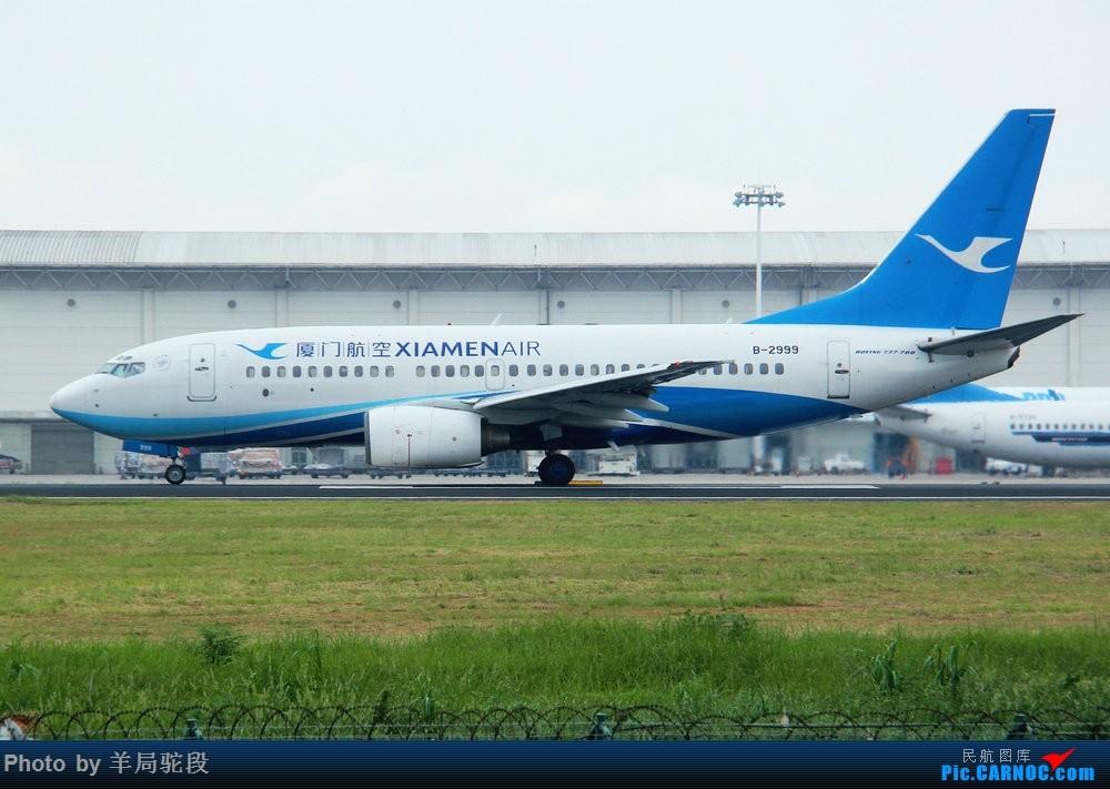 Re:[原创][南宁飞友]『空铁联运,畅游东南』(关键词:ANA767大猩猩,0元高经) BOEING 737-700 B-2999 中国厦门高崎国际机场