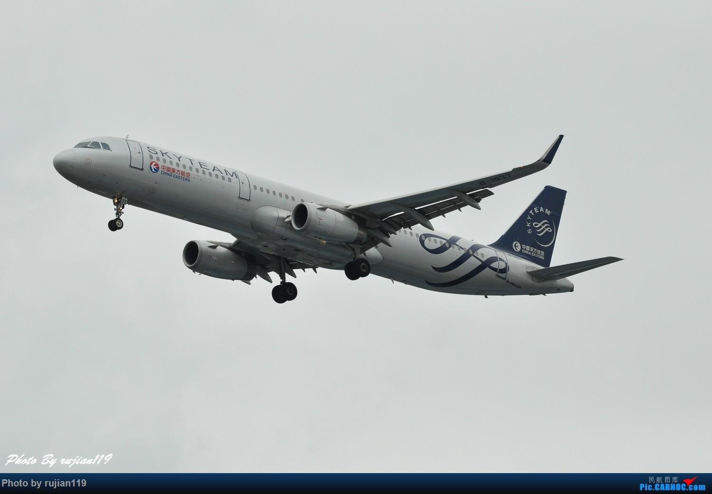 Re:[原创]流水帐之HGH8月22日拍灰机 AIRBUS A321-200 B-1837 中国杭州萧山国际机场