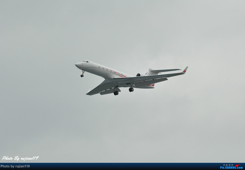 Re:[原创]流水帐之HGH8月22日拍灰机 GULFSTREAM G450  中国杭州萧山国际机场