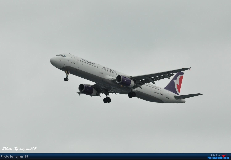 Re:[原创]流水帐之HGH8月22日拍灰机 AIRBUS A321-200 B-MBA 中国杭州萧山国际机场