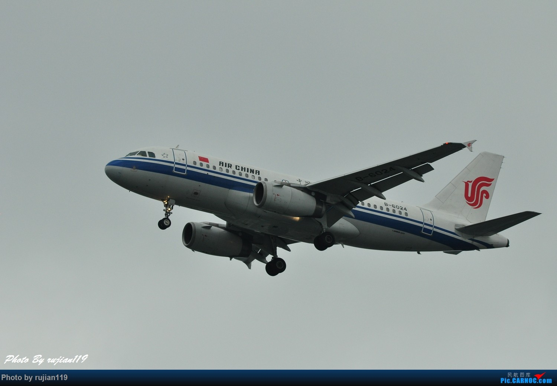 Re:[原创]流水帐之HGH8月22日拍灰机 AIRBUS A319-100 B-6024 中国杭州萧山国际机场