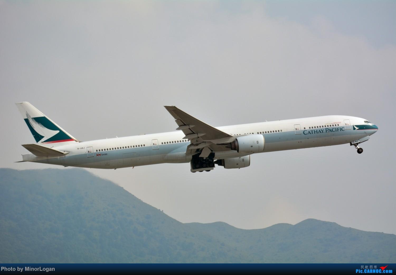 Re:[原创]三段飞行,漫漫求学路-HKG拍机篇 BOEING 777-300 B-HNJ 中国香港赤鱲角国际机场
