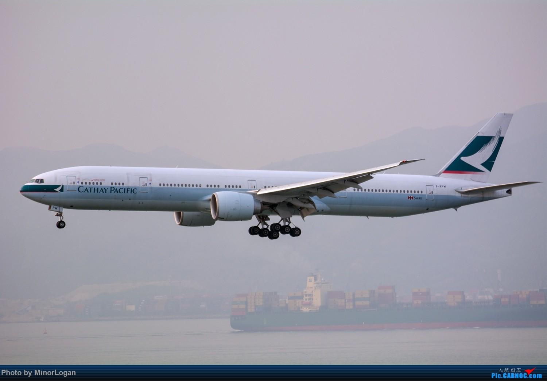 Re:[原创]三段飞行,漫漫求学路-HKG拍机篇(求砸小飞机) BOEING 777-300ER B-KPW 中国香港赤鱲角国际机场