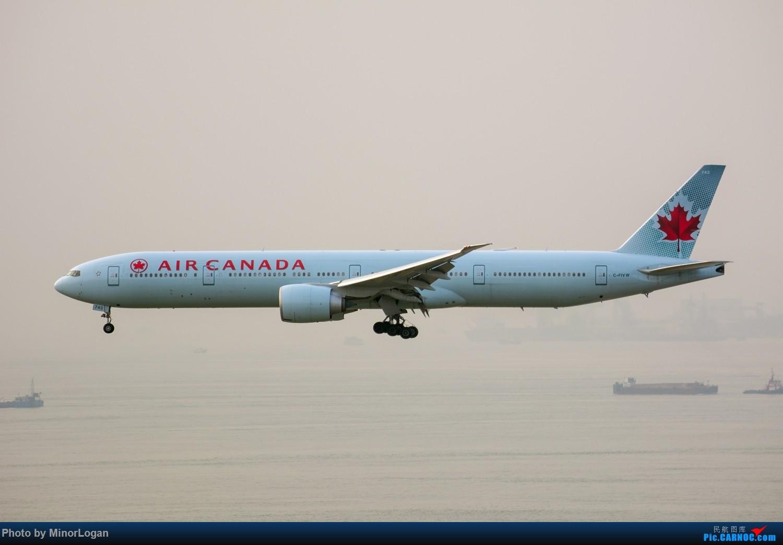 Re:[原创]三段飞行,漫漫求学路-HKG拍机篇(求砸小飞机) BOEING 777-300ER C-FIVW 中国香港赤鱲角国际机场