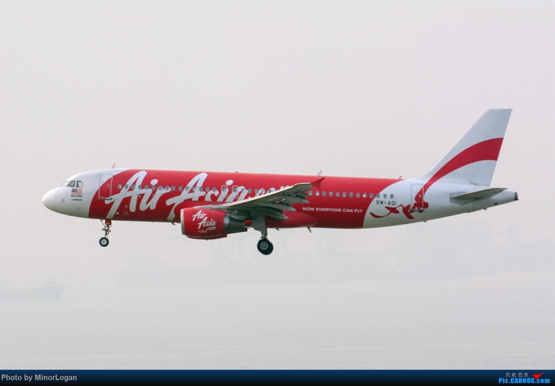 Re:[原创]三段飞行,漫漫求学路-HKG拍机篇(求砸小飞机) AIRBUS A320-200 9M-AQI 中国香港赤鱲角国际机场