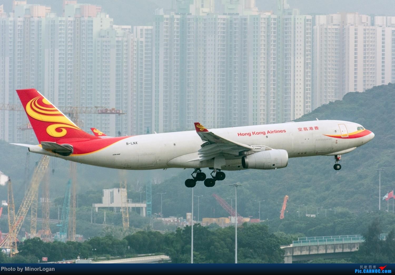 Re:[原创]三段飞行,漫漫求学路-HKG拍机篇(求砸小飞机) AIRBUS A330-200F B-LNX 中国香港赤鱲角国际机场