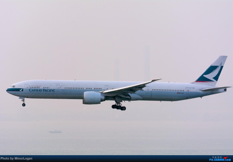 Re:[原创]三段飞行,漫漫求学路-HKG拍机篇(求砸小飞机) BOEING 777-300ER B-KQK 中国香港赤鱲角国际机场