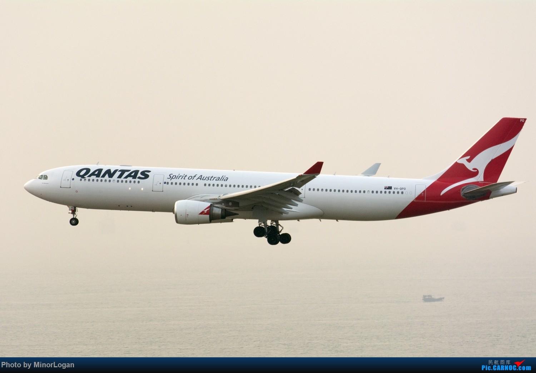 Re:[原创]三段飞行,漫漫求学路-HKG拍机篇(求砸小飞机) AIRBUS A330-300 VH-QPD 中国香港赤鱲角国际机场
