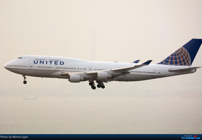 Re:[原创]三段飞行,漫漫求学路-HKG拍机篇(求砸小飞机) BOEING 747-400 N177UA 中国香港赤鱲角国际机场