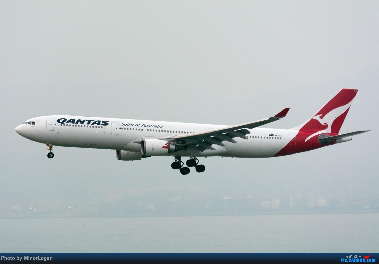 Re:[原创]三段飞行,漫漫求学路-HKG拍机篇(求砸小飞机) AIRBUS A330-200 VH-QPA 中国香港赤鱲角国际机场