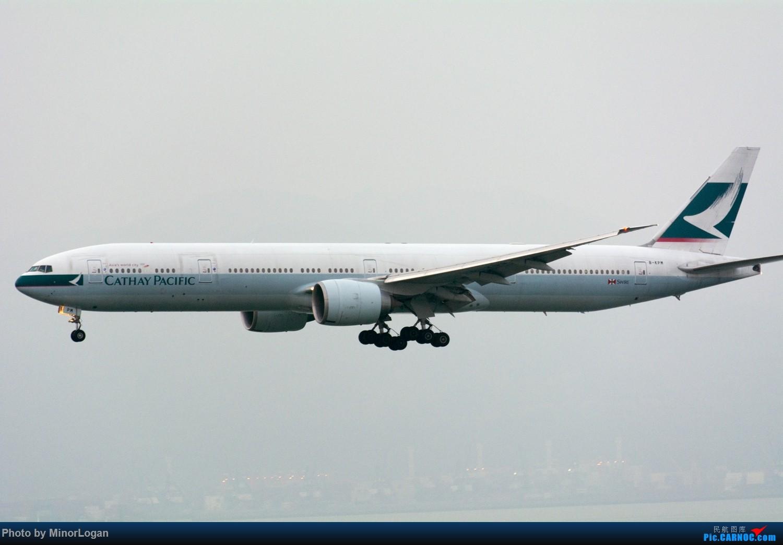 Re:[原创]三段飞行,漫漫求学路-HKG拍机篇(求砸小飞机) BOEING 777-300ER B-KPM 中国香港赤鱲角国际机场