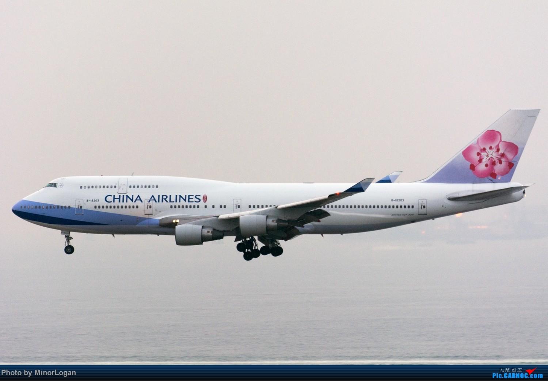 Re:[原创]三段飞行,漫漫求学路-HKG拍机篇(求砸小飞机) BOEING 747-400 B-18203 中国香港赤鱲角国际机场