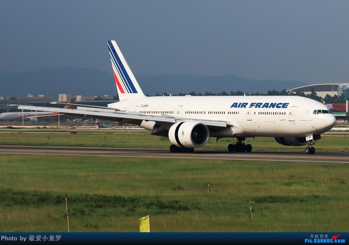 Re:[原创]小童罗毕业的拍机之旅系列——首站广州白云机场 BOEING 777-200 F-GSPP 中国广州白云国际机场