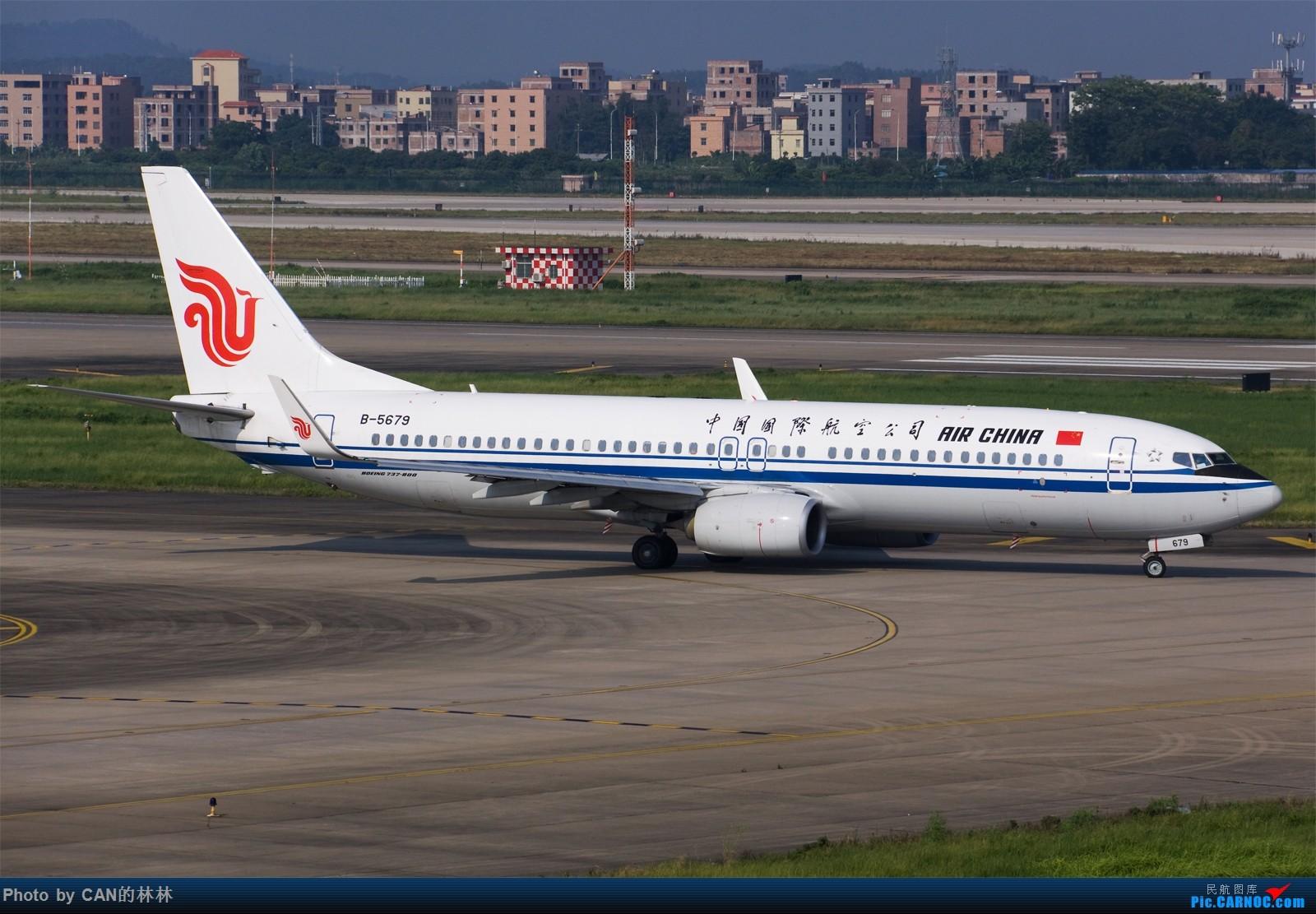 Re:[原创]------一面红旗,一抹阳光------ BOEING 737-800 B-5679 中国广州白云国际机场