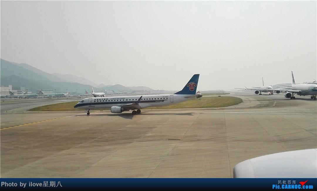 上跑道南航抓到一只南航的E190飞往梅州-PAT游记No.10 与国泰航空