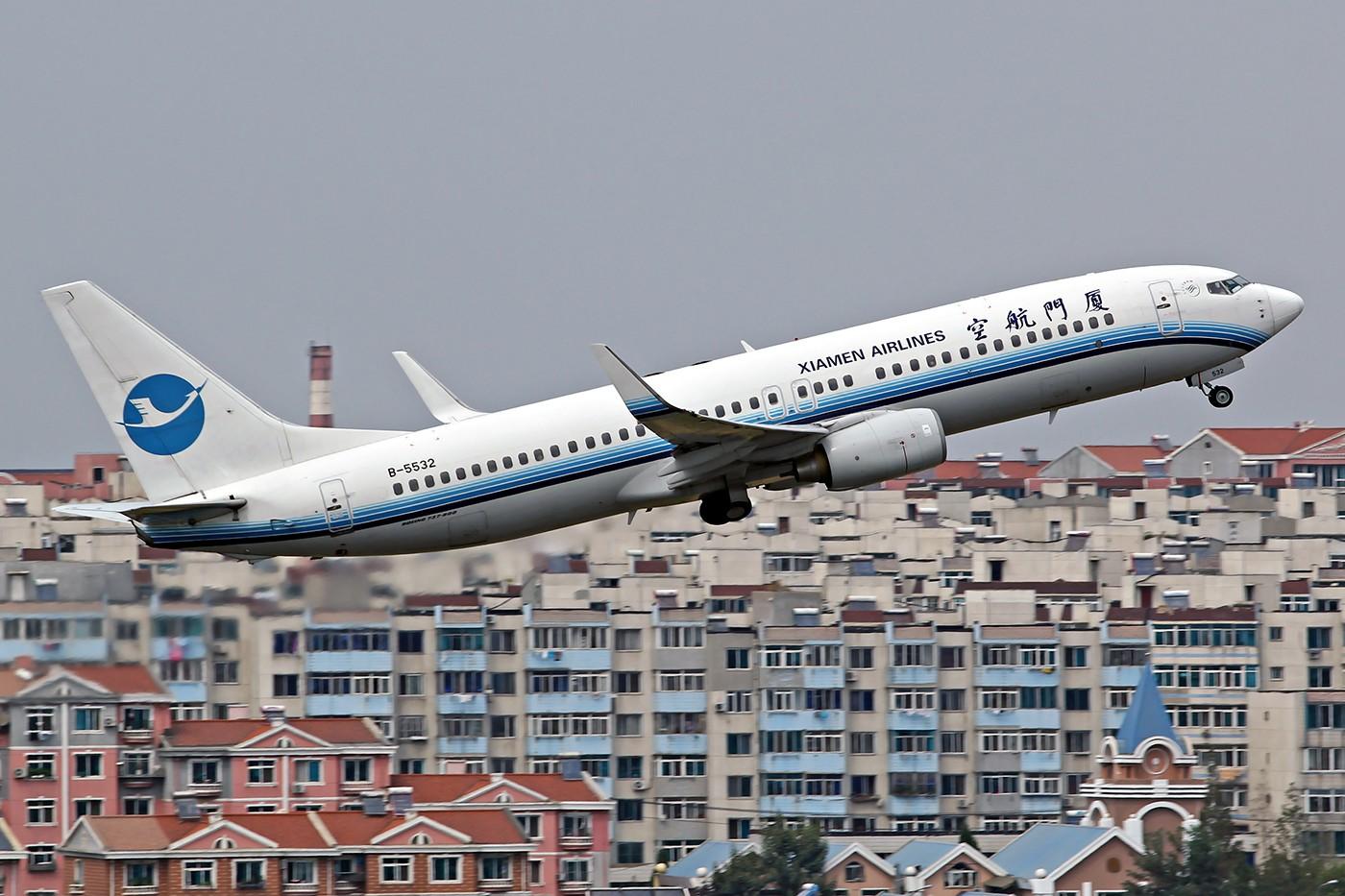 Re:[原创][DLC]。。。冲上云霄。。。 BOEING 737-800 B-5532 中国大连国际机场