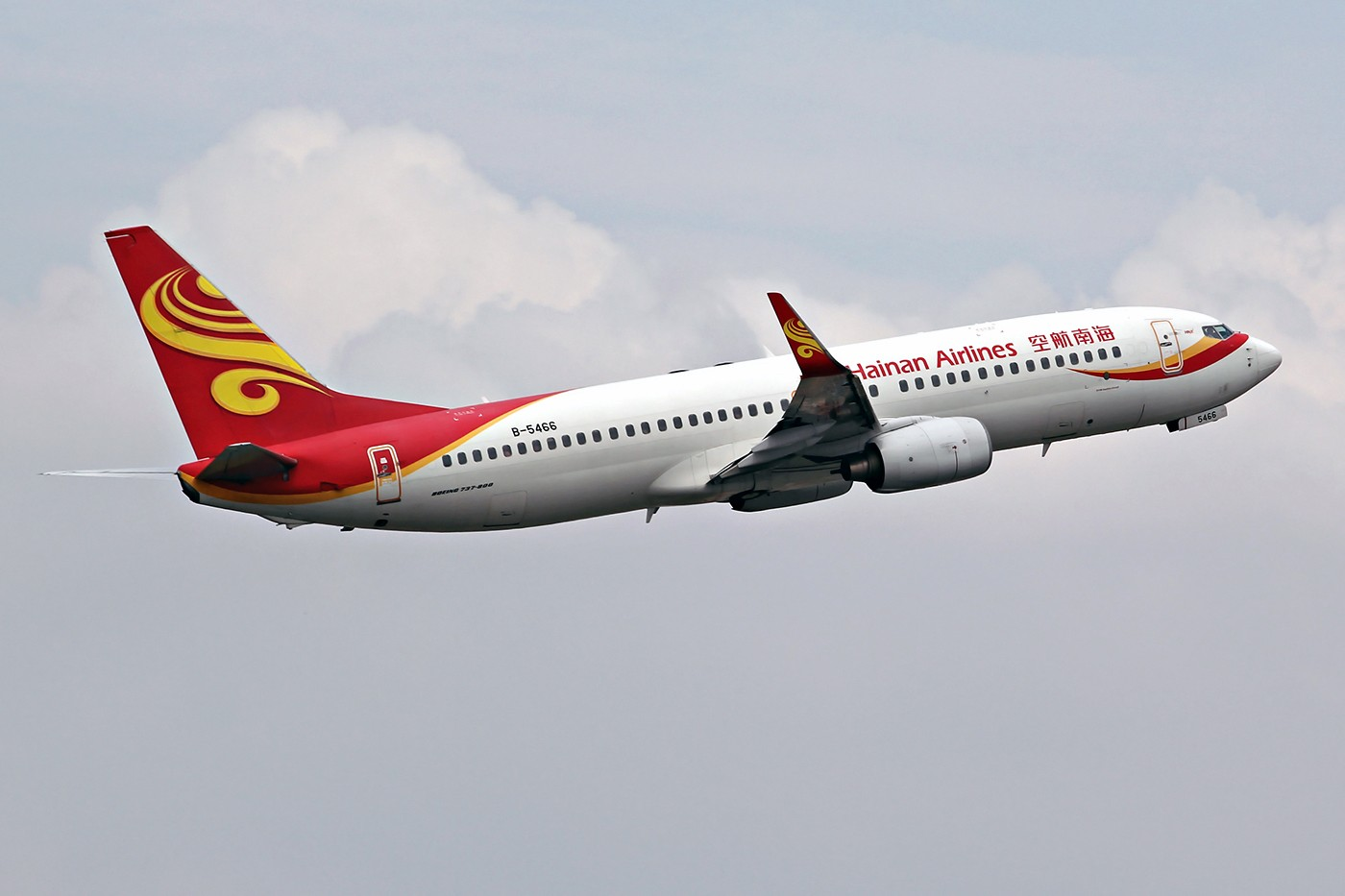 Re:[原创][DLC]。。。冲上云霄。。。 BOEING 737-800 B-5466 中国大连国际机场