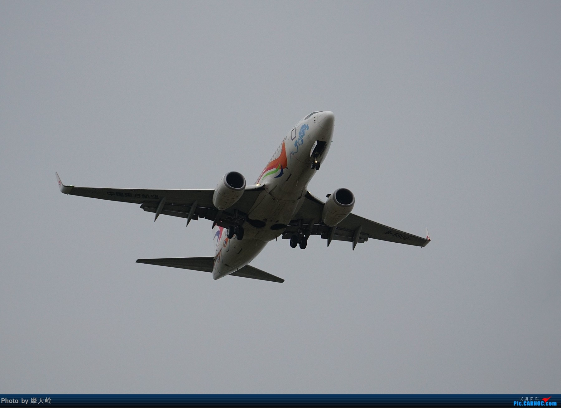 Re:[原创]长水下滑道拍机 BOEING 737-700 B-5802 中国昆明长水国际机场
