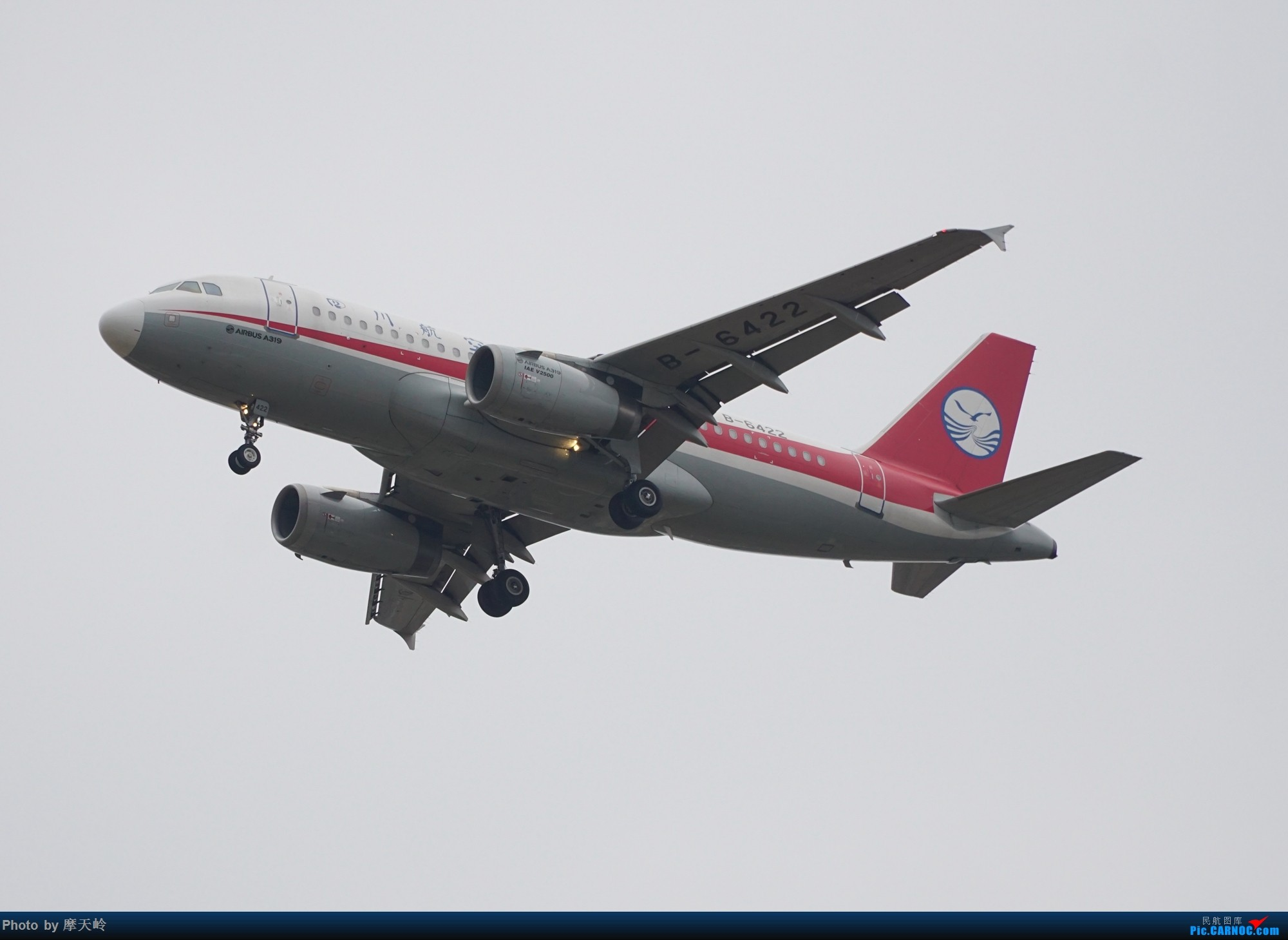 Re:[原创]长水下滑道拍机 AIRBUS A319-100 B-6422 中国昆明长水国际机场