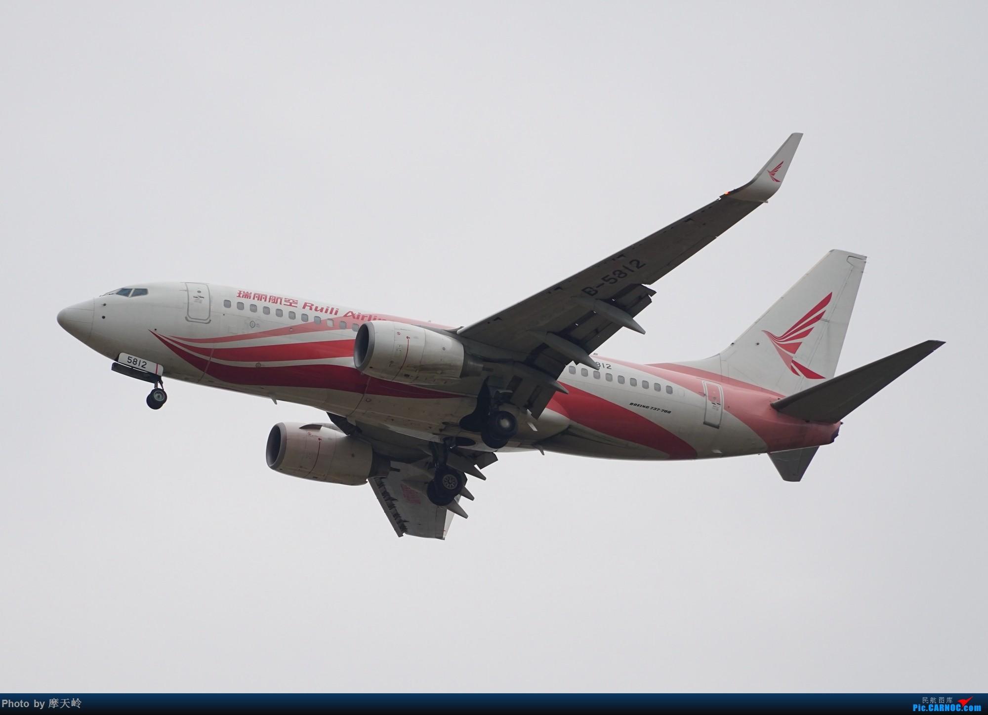 Re:[原创]长水下滑道拍机 BOEING 737-700 B-5812 中国昆明长水国际机场