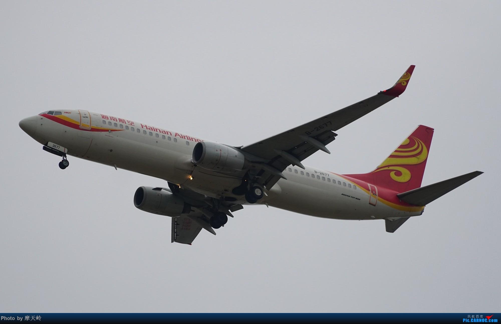 Re:[原创]长水下滑道拍机 BOEING 737-800 B-2677 中国昆明长水国际机场