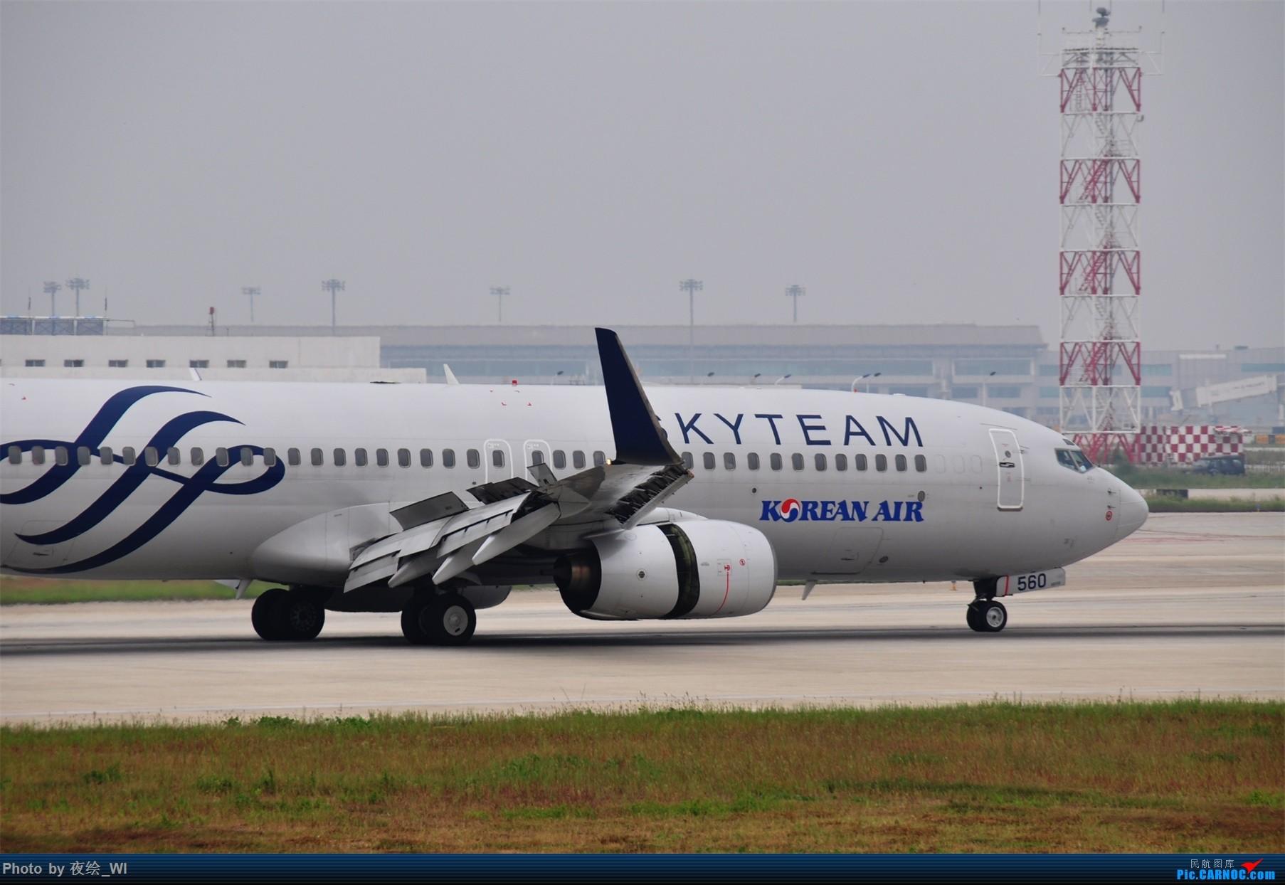 Re:[原创]【NKG】新手第二发 1800*1200!各种好货 BOEING 737-800 HL7560 中国南京禄口国际机场