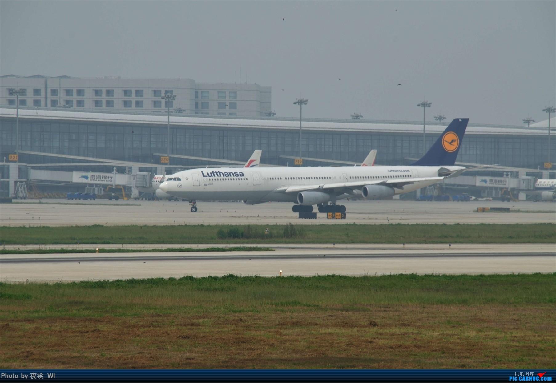Re:[原创]【NKG】新手第二发 1800*1200!各种好货 AIRBUS A340-300  中国南京禄口国际机场