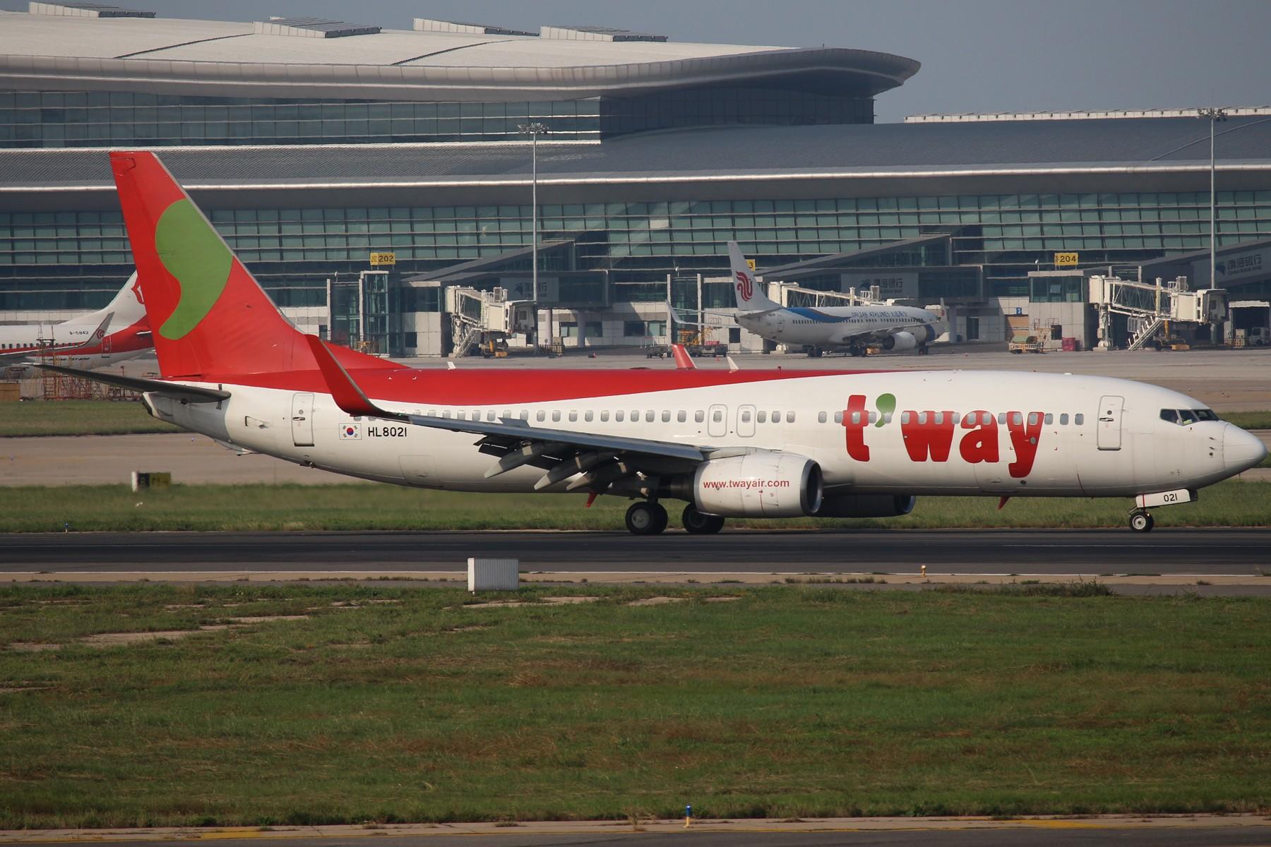 Re:[原创]【TSN拍机帖】1800*1200大图 13pics BOEING 737-800 HL8021 中国天津滨海国际机场