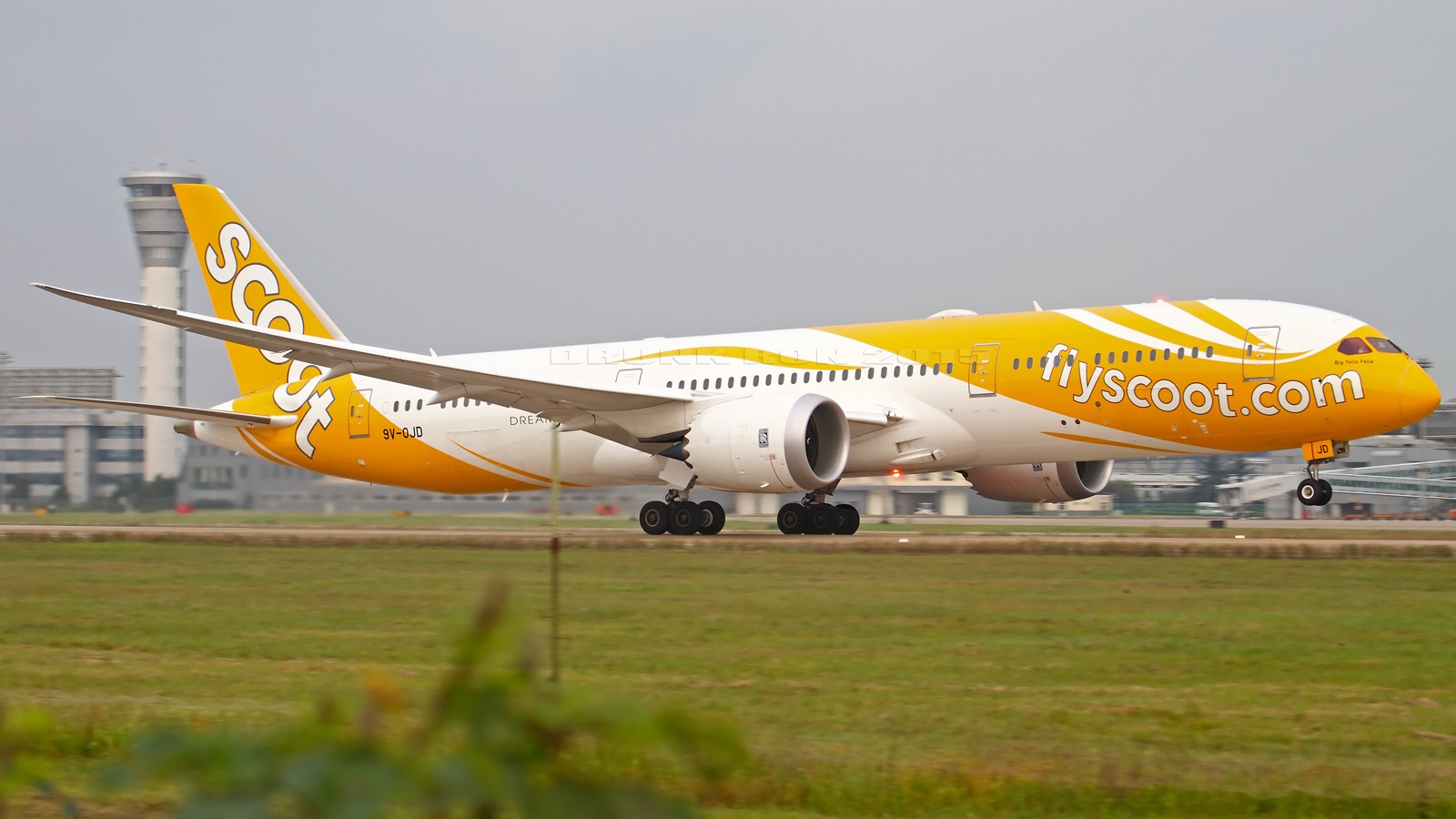 Re:NKG~头回拍789~各种闪花了眼~ BOEING 787-9 9V-OJD 中国南京禄口国际机场