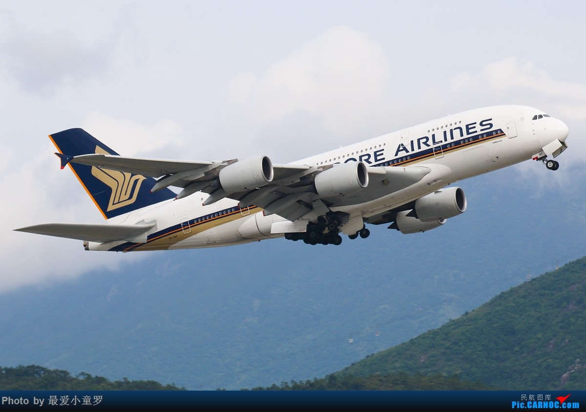 Re:[原创]小童罗的毕业拍机之旅第二站——香港国际机场第一集 AIRBUS A380-800 9V-SKF