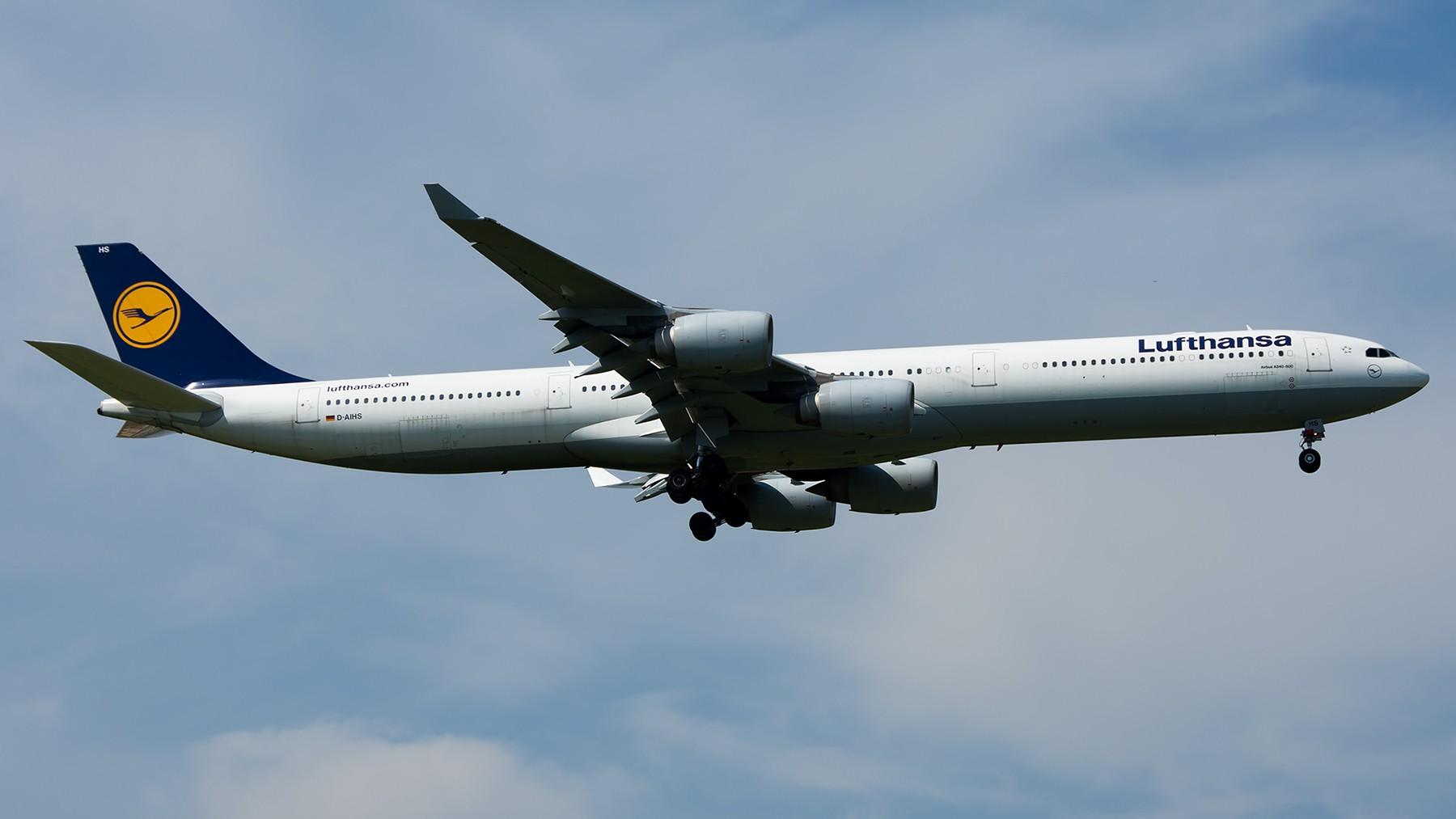 Re:[原创]终于放假了,出来冒个泡,随便发几张 AIRBUS A340-600 D-AIHS 中国北京首都国际机场