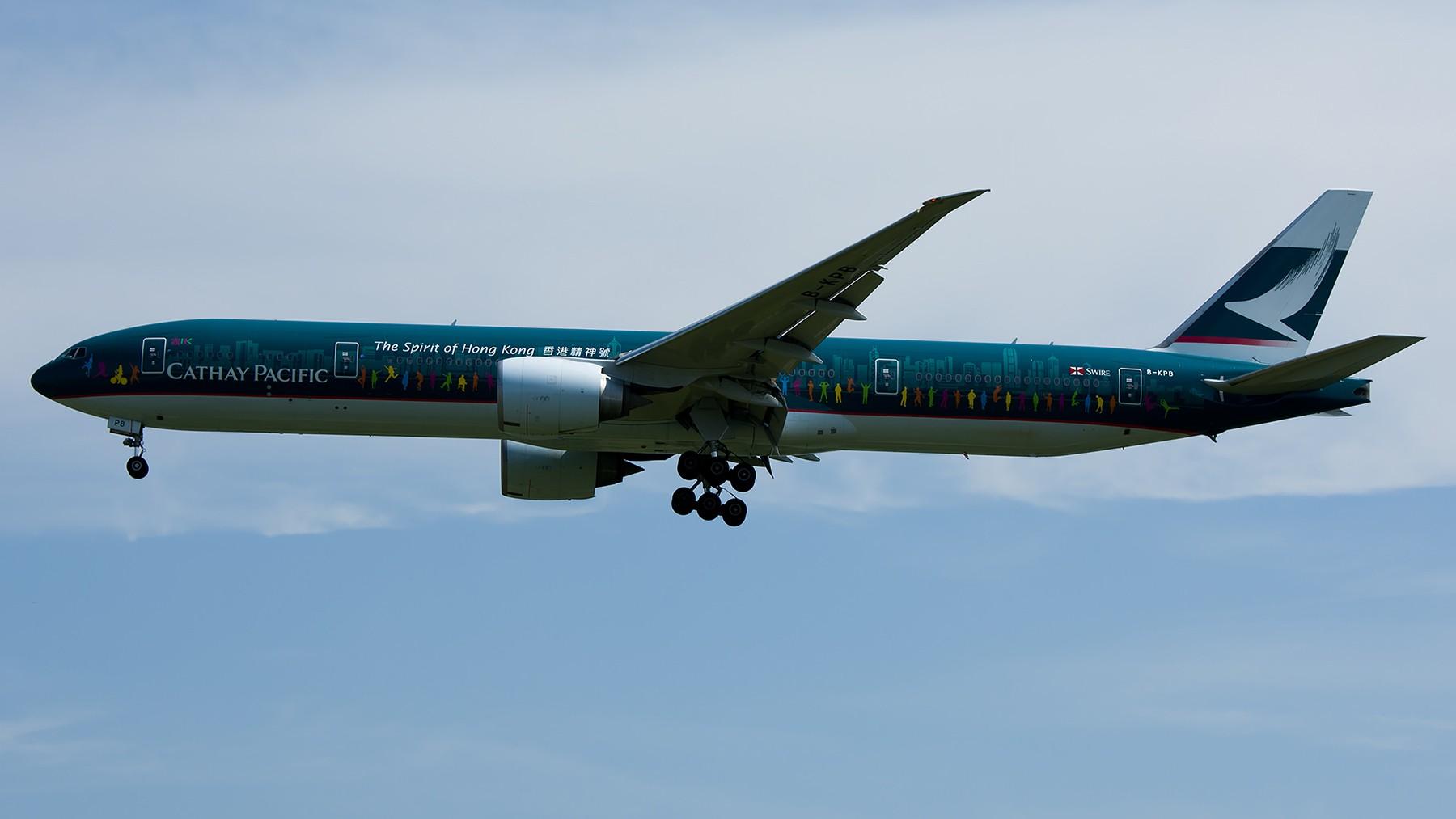 Re:[原创]终于放假了,出来冒个泡,随便发几张 BOEING 777-300ER B-KPB 中国北京首都国际机场