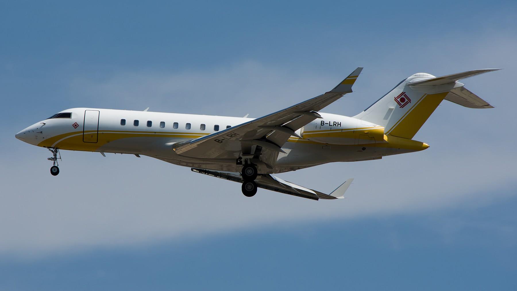 Re:[原创]终于放假了,出来冒个泡,随便发几张 BOMBARDIER BD-700 B-LRH 中国北京首都国际机场