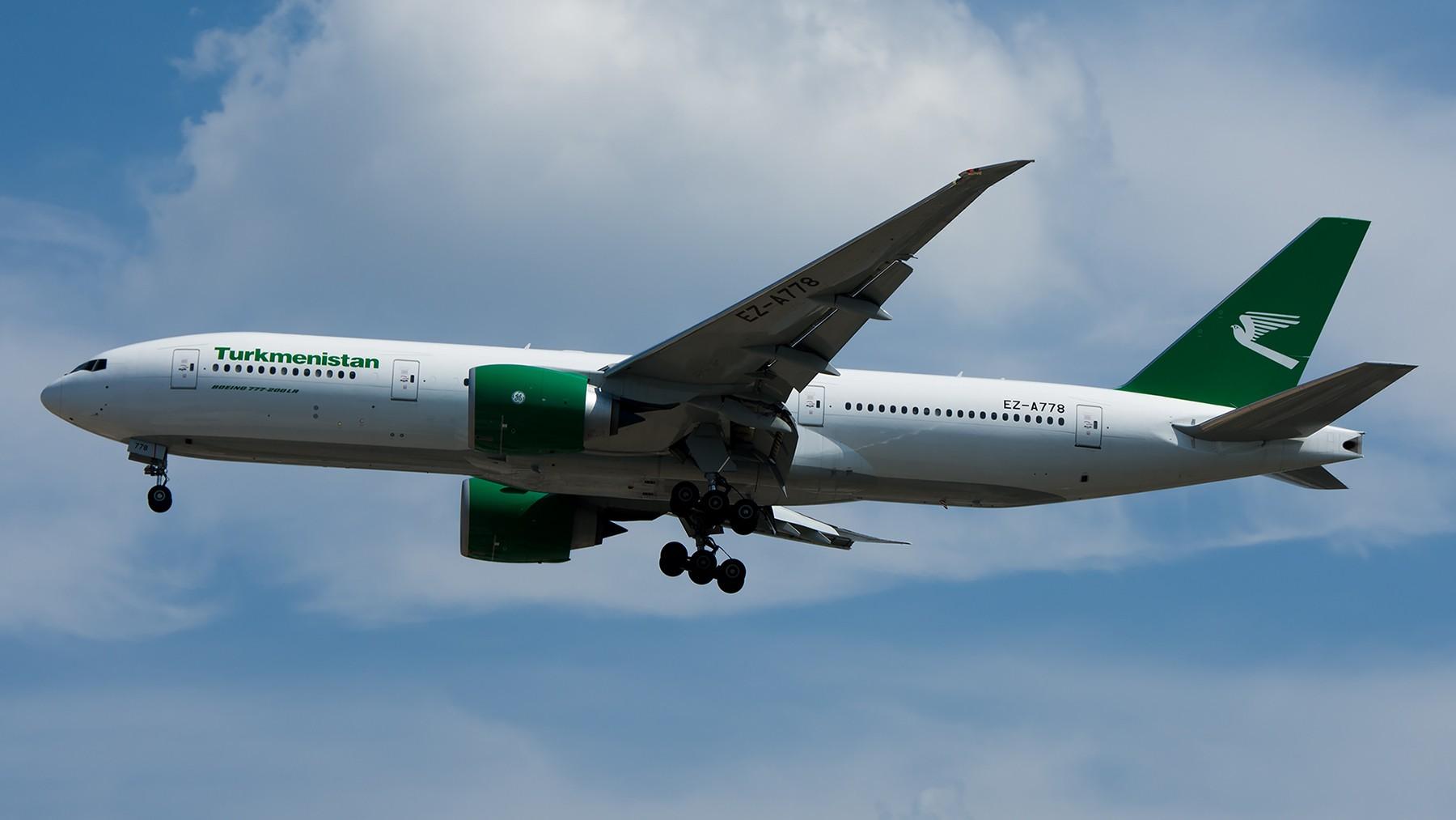 Re:[原创]终于放假了,出来冒个泡,随便发几张 BOEING 777-200 EZ-A778 中国北京首都国际机场