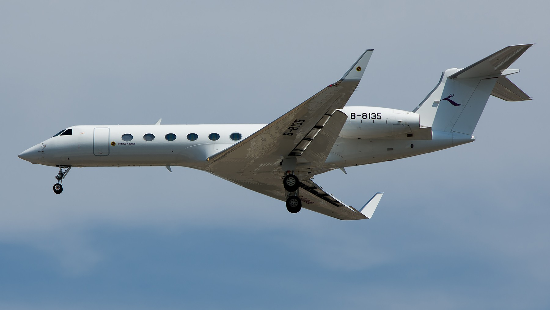 Re:终于放假了,出来冒个泡,随便发几张 GULFSTREAM G550 B-8135 中国北京首都国际机场