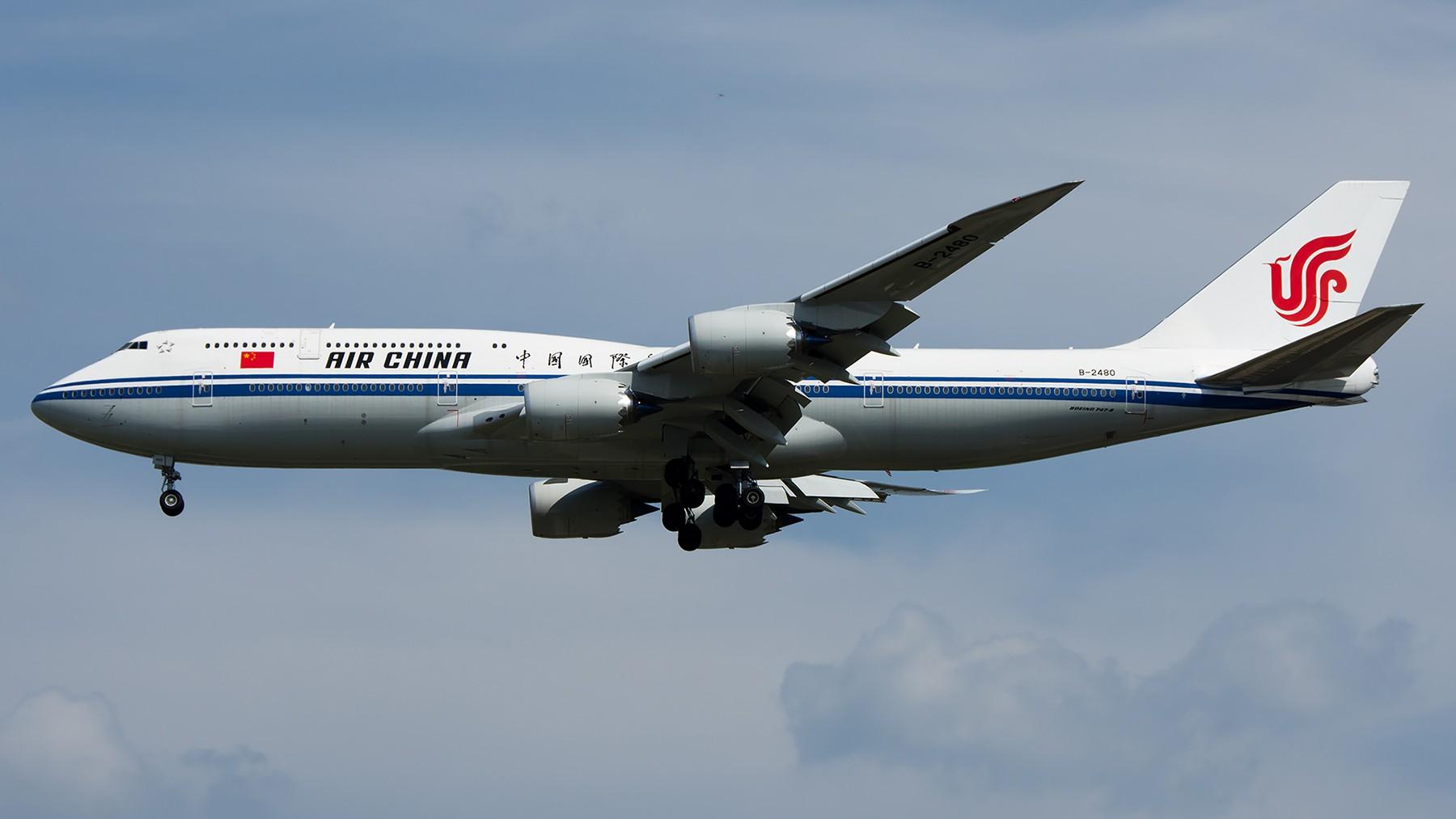 Re:[原创]终于放假了,出来冒个泡,随便发几张 BOEING 747-8I B-2480 中国北京首都国际机场