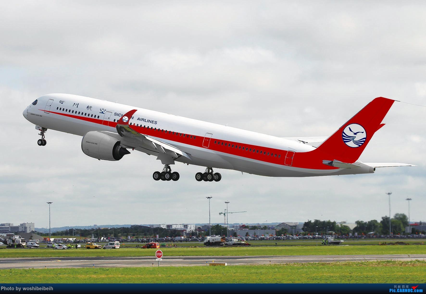 Re:[原创]CARNOC成都空港缘分-CTU新机库视角下的南航B-6136 A350  中国成都双流国际机场
