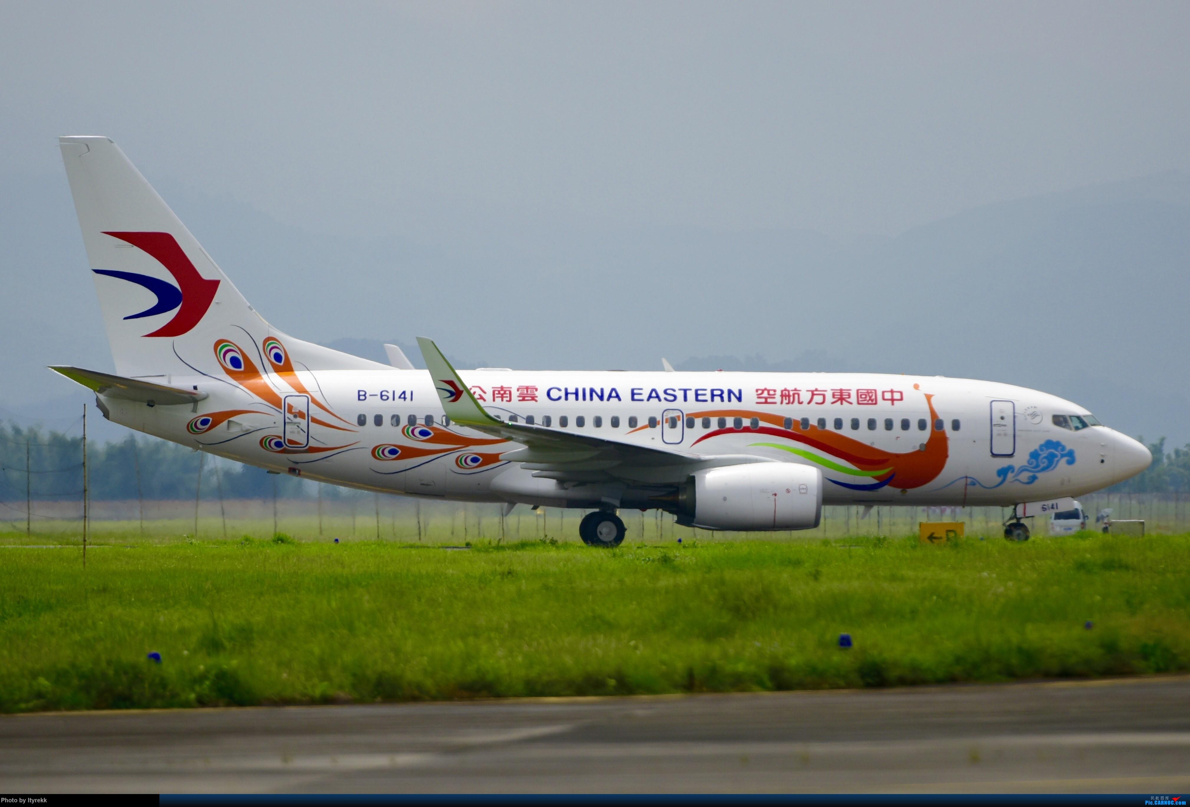[原创]【一图】首发东航云南最新73G,B-6141 BOEING 737-700 B-6141 中国芒市机场