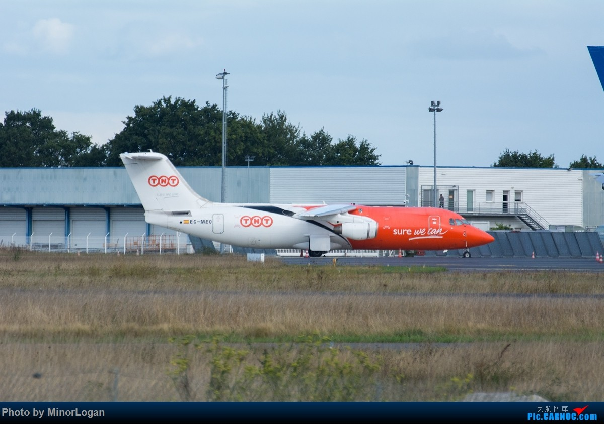 Re:[原创]异国他乡多变天,支线机场作战 BRITISH AEROSPACE BAE-146 EC-MEO 法国雷恩机场