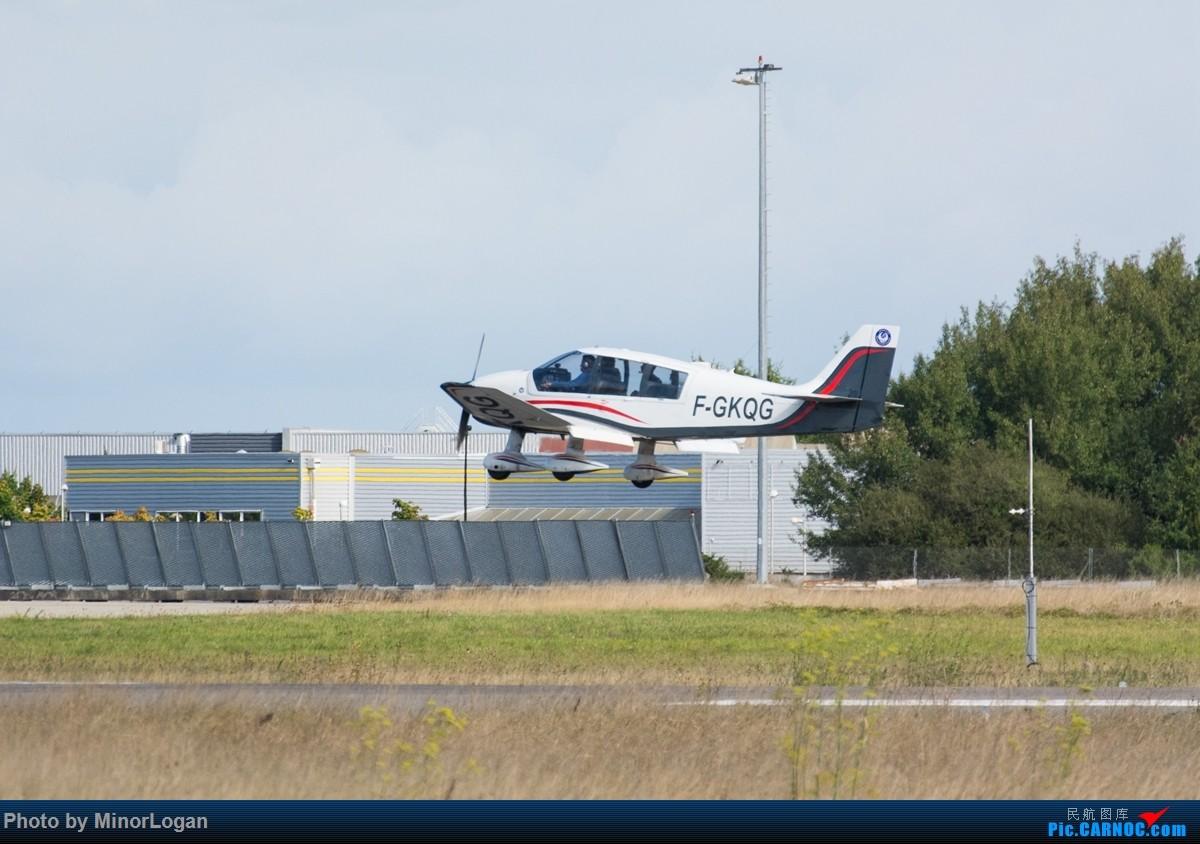 Re:[原创]异国他乡多变天,支线机场作战 SAAB 2000 F-GKQG 法国雷恩机场