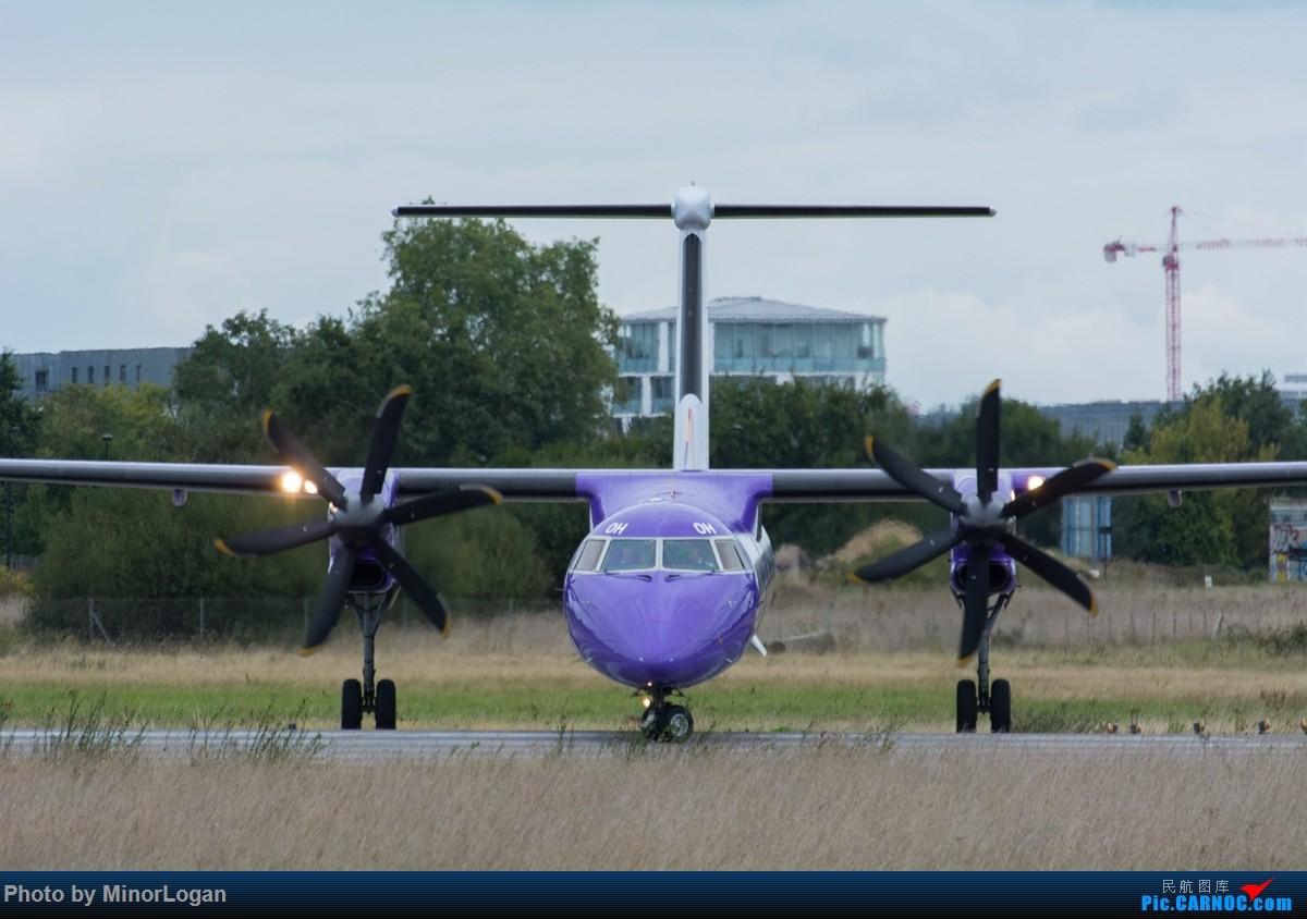 Re:[原创]异国他乡多变天,支线机场作战 DASH8Q400 G-ECOH 法国雷恩机场