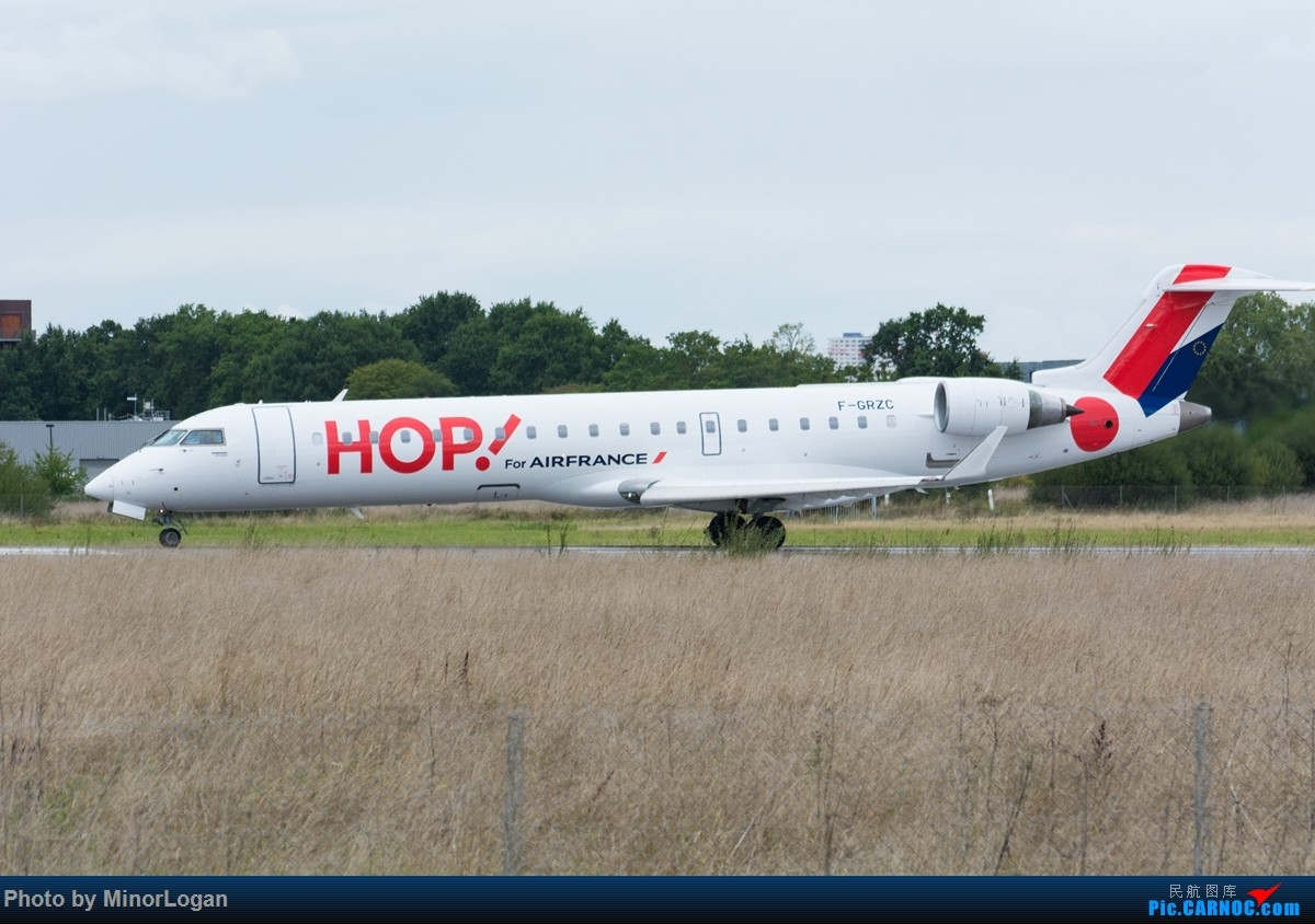Re:[原创]异国他乡多变天,支线机场作战 BOMBARDIER CRJ-700 F-GRZC 法国雷恩机场