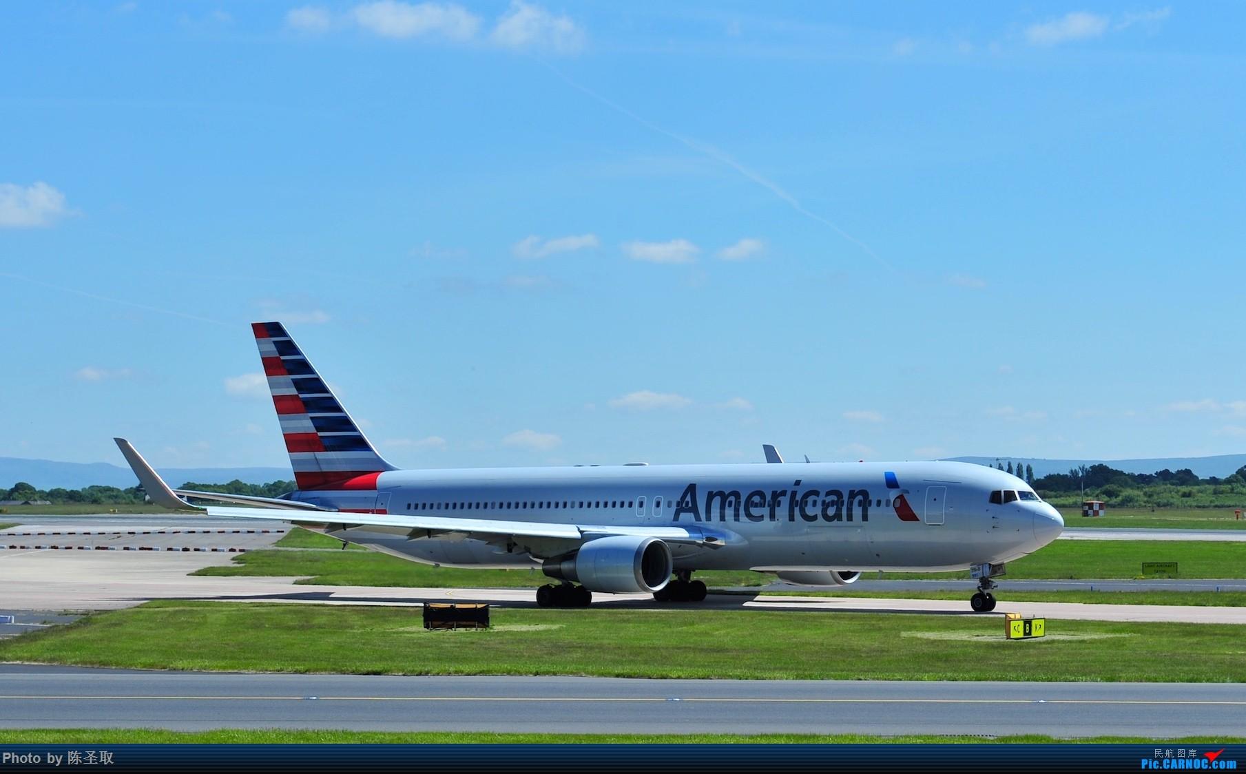 Re:[原创]迟来的6月曼城拍机图。廉价航空的天堂,曼彻斯特机场~ BOEING 767-323ER N391AA 英国曼彻斯特机场