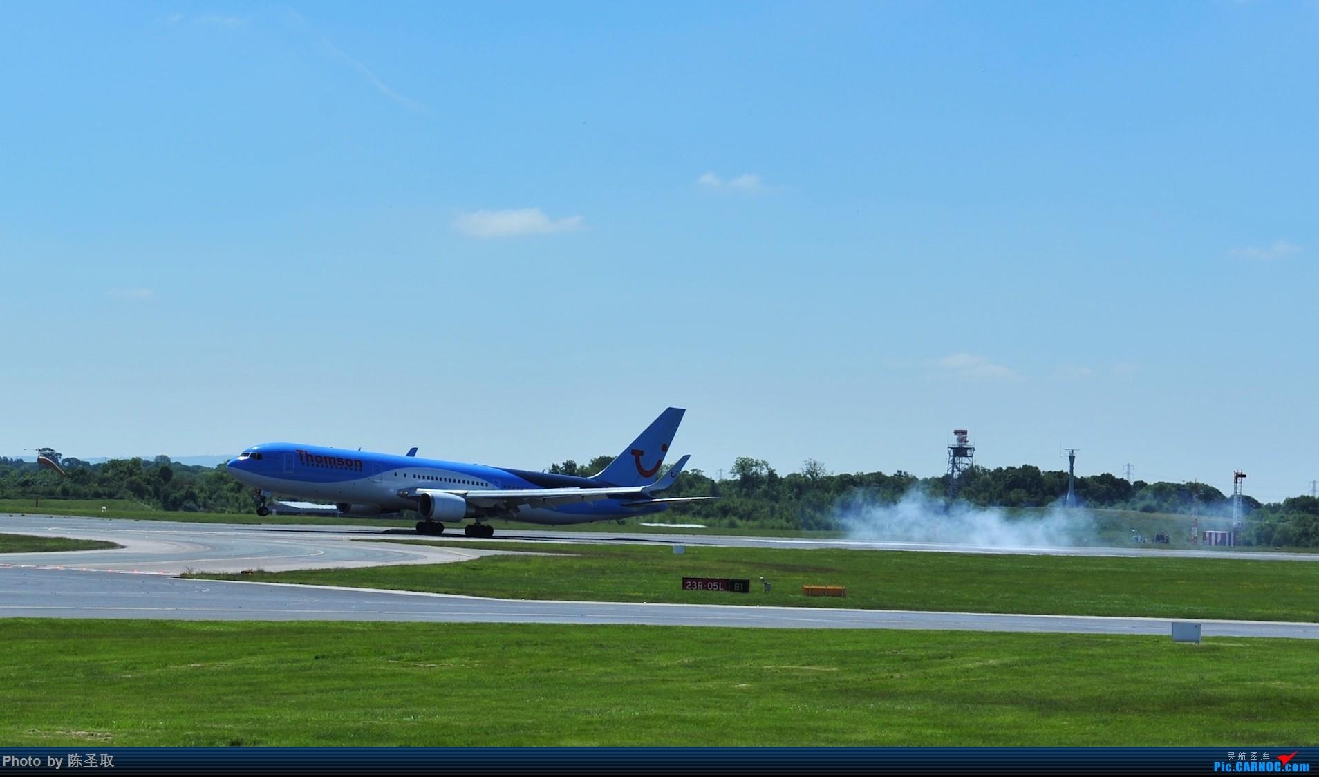 Re:[原创]迟来的6月曼城拍机图。廉价航空的天堂,曼彻斯特机场~ BOEING 767-323ER  英国曼彻斯特机场