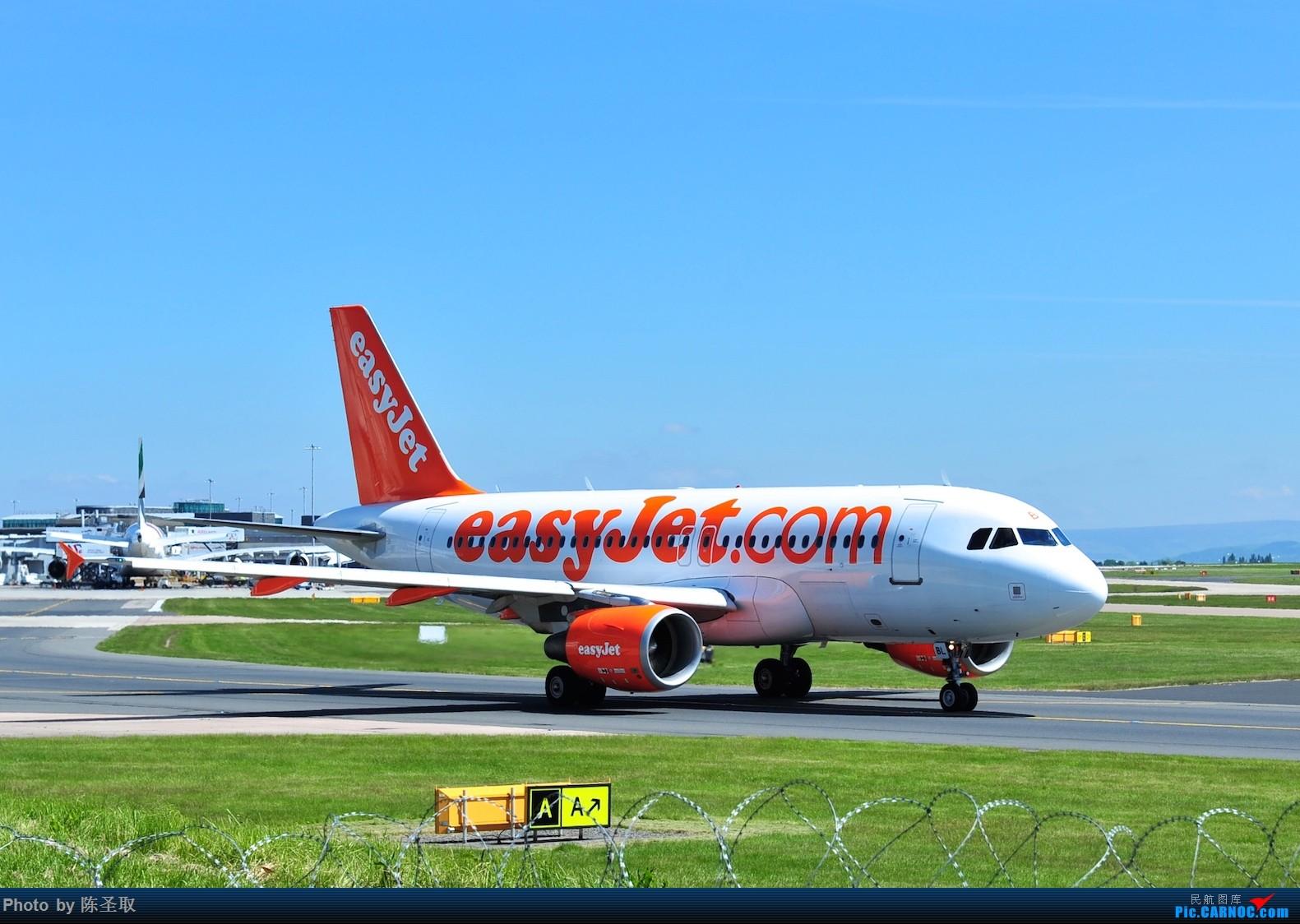Re:[原创]迟来的6月曼城拍机图。廉价航空的天堂,曼彻斯特机场~ AIRBUS A319-111 G-EZBL 英国曼彻斯特机场