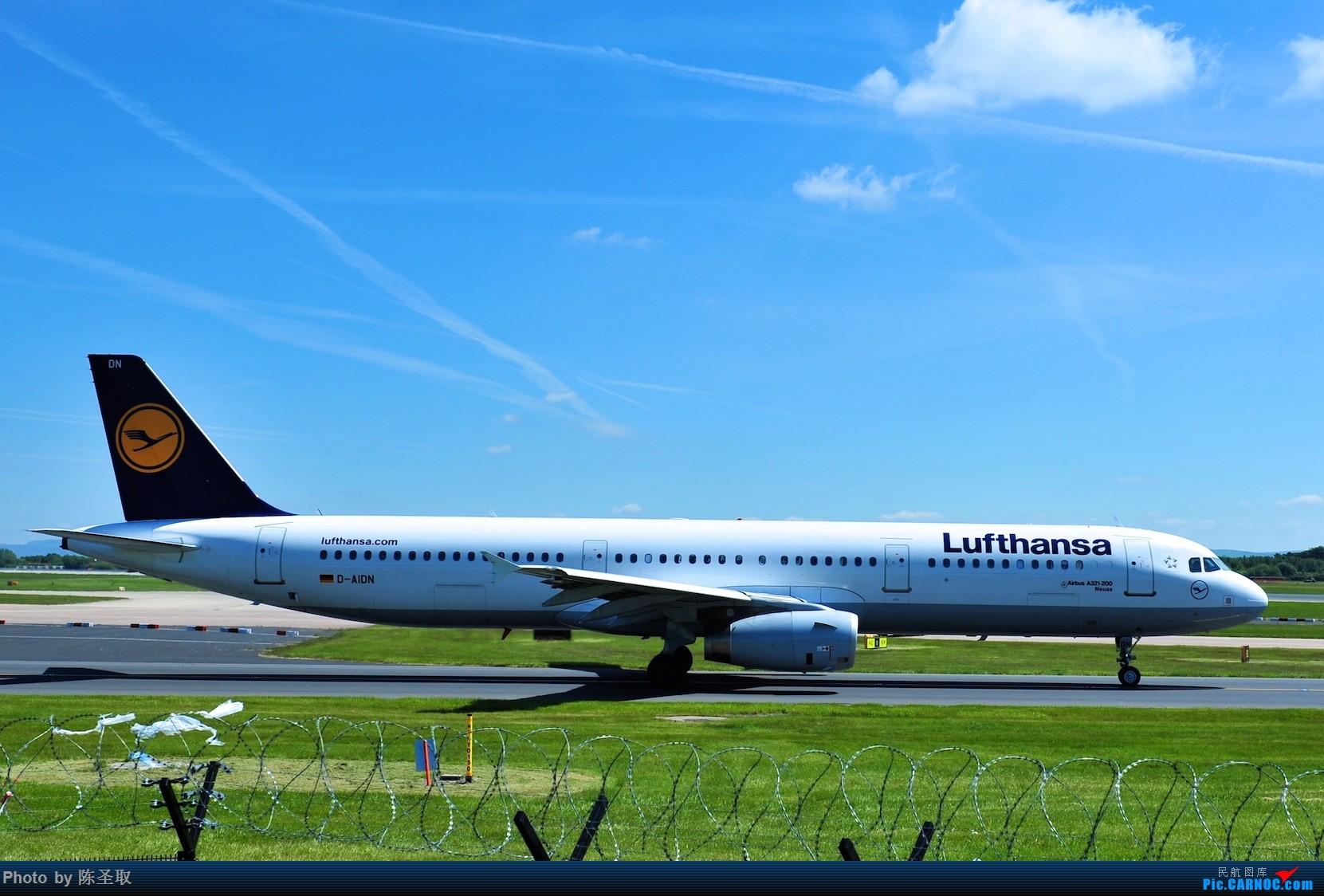 Re:[原创]迟来的6月曼城拍机图。廉价航空的天堂,曼彻斯特机场~ AIRBUS A321-231 D-AIDN 英国曼彻斯特机场