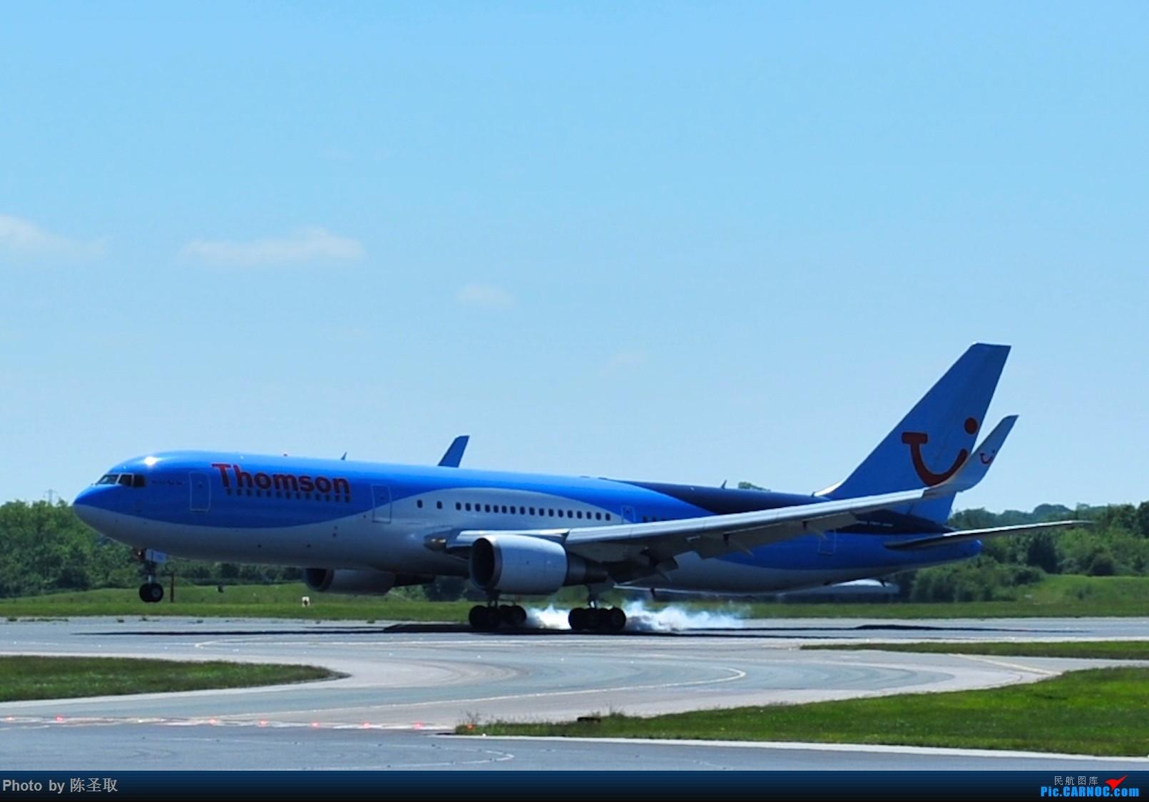 Re:[原创]迟来的6月曼城拍机图。廉价航空的天堂,曼彻斯特机场~ BOEING 767-300ER  英国曼彻斯特机场