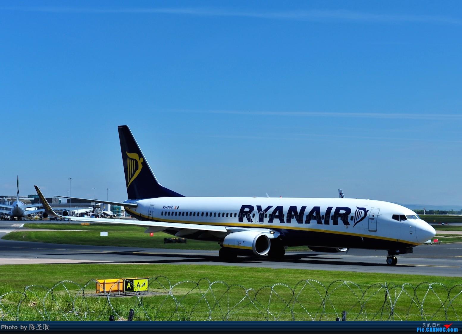 Re:[原创]迟来的6月曼城拍机图。廉价航空的天堂,曼彻斯特机场~ BOEING 737-8AS(W) EI-DWG 英国曼彻斯特机场