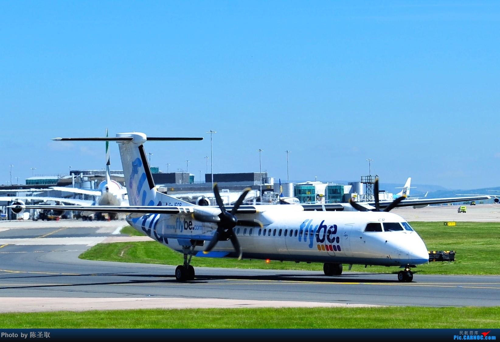 Re:[原创]迟来的6月曼城拍机图。廉价航空的天堂,曼彻斯特机场~ DE HAVILLAN CANADA DHC-8-402 G-JECR 英国曼彻斯特机场